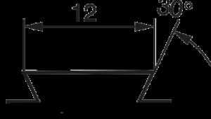 для Prisma 12 мм (ластахвост)