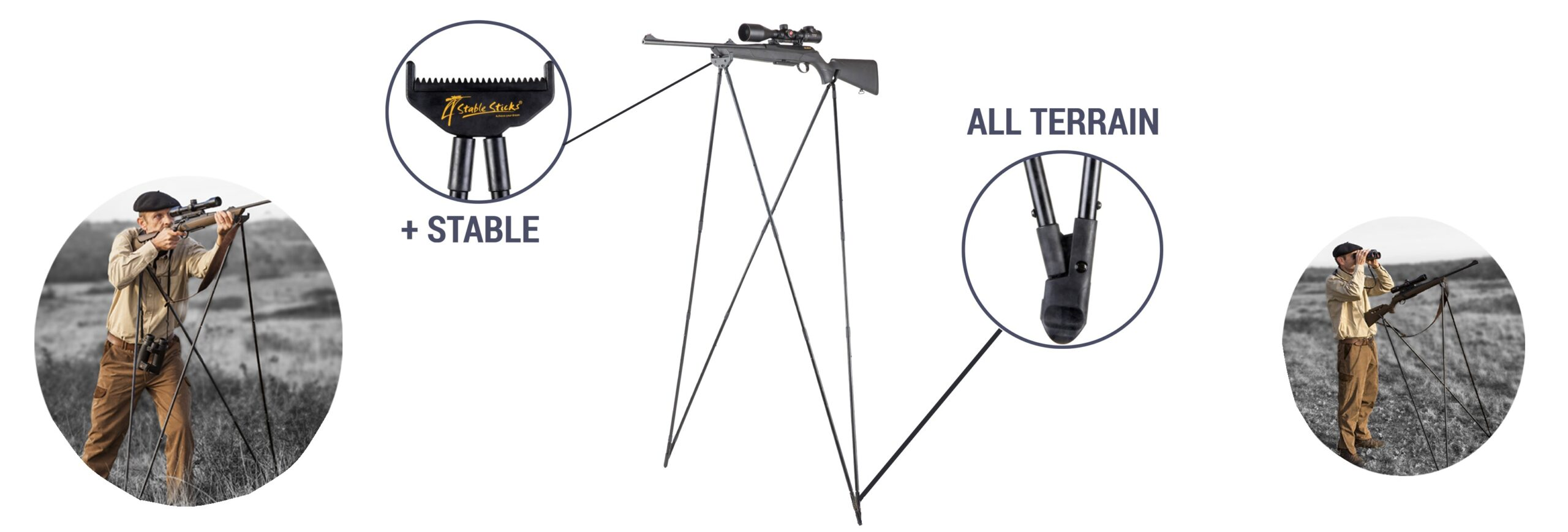 Опоры для стрельбы 4 Stable Sticks